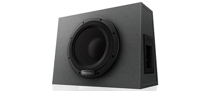 """Pioneer TS-WX1010A 10"""" Active Subwoofer"""