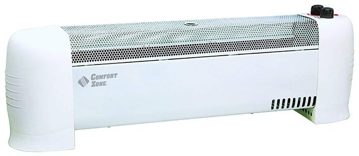 Comfort Zone Heater Convection Baseboard