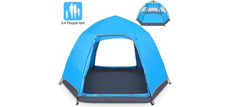 BATTOP 4 Person Tent for Camping