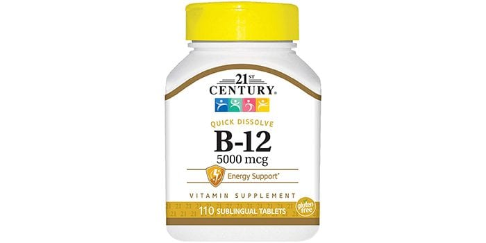 21st Century B12 Sublingual Tablets