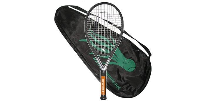 Head Ti S6 Strung with Cover Tennis Racquet